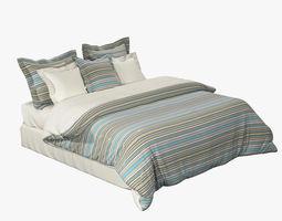 King Size Bed Set 3D