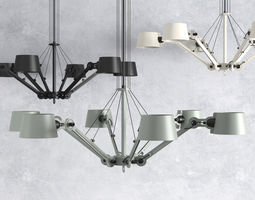 bolt chandelier 3d model
