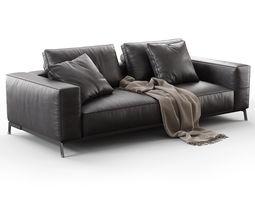 ettore 2 seater sofa 3d