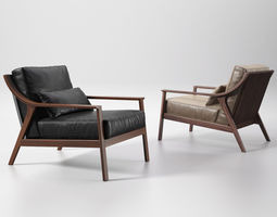 lady armchair 3d