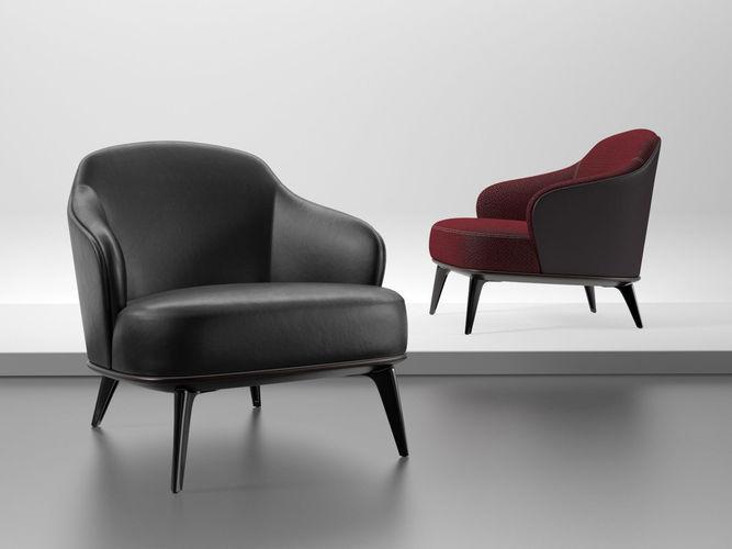 leslie armchair 3d model max obj mtl fbx c4d skp mxs 1