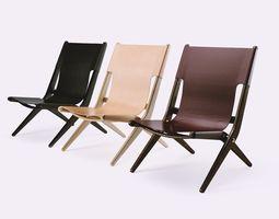 saxe folding chair 3d