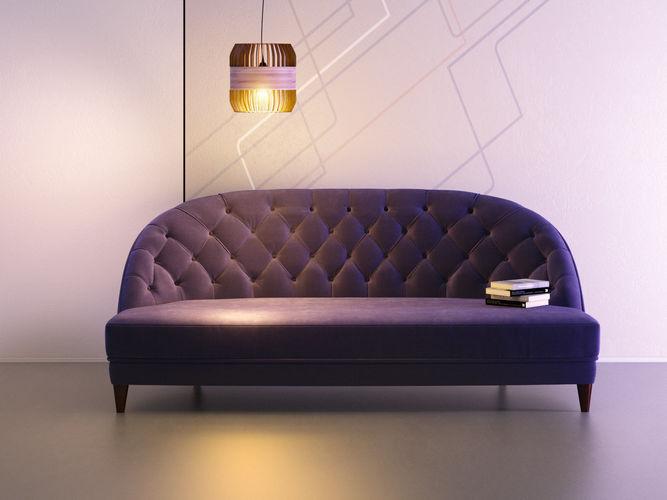 dalila sofa 210 3d model max obj mtl fbx c4d skp mxs 1