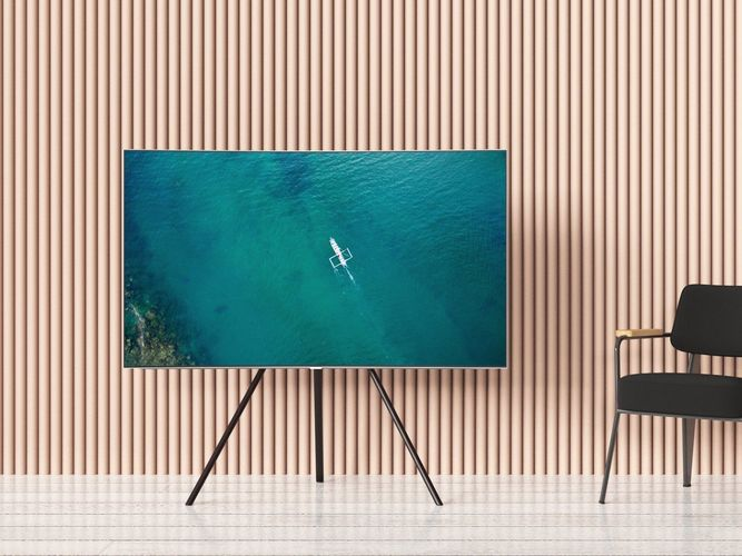 55 QLED TV with Studio Stand