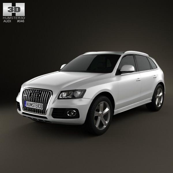 3D Audi Q5 2013