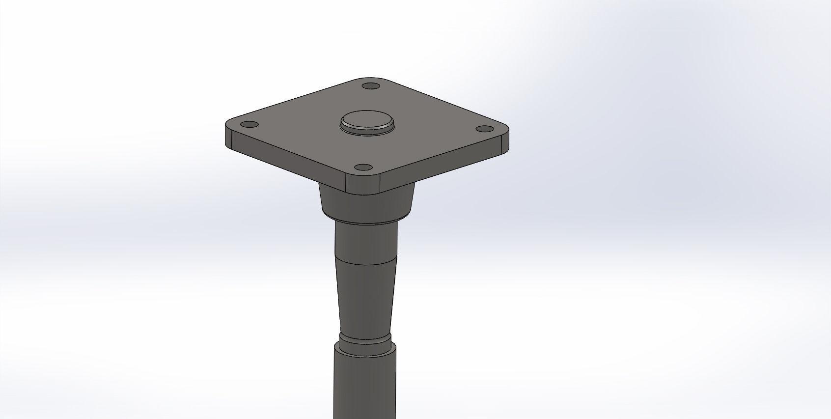 Pivot Pin Assembly : Pivot pin assembly free d model cgtrader