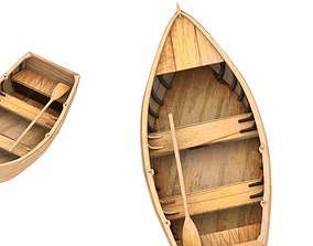3D row boat