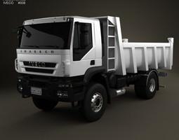 Iveco Trakker Dump Truck 2-axis 2012 3D