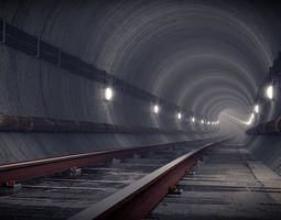 other 3D model Dark subway