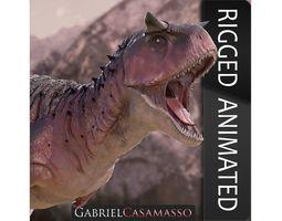 3D model Carnotaurus Sastrei