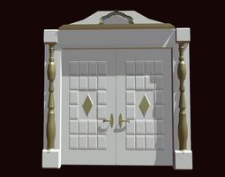 3D model Doors for a house