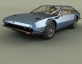 3D model Lamborghini Jarama 400 GT