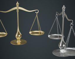 3D model Balance Scale 1A