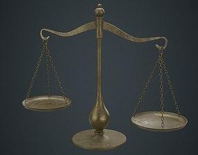 3D model Balance Scale 1C