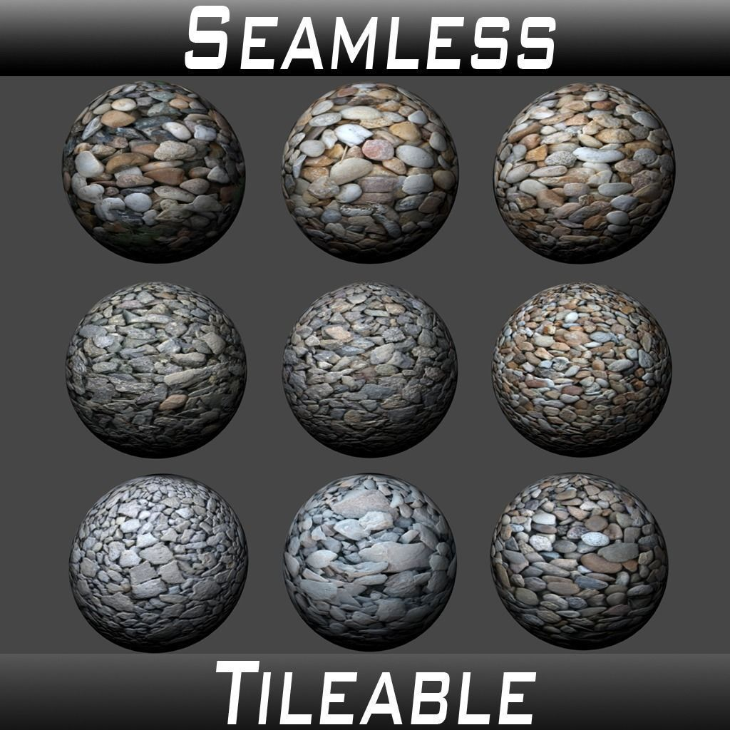 Gravel Textures Pack 2