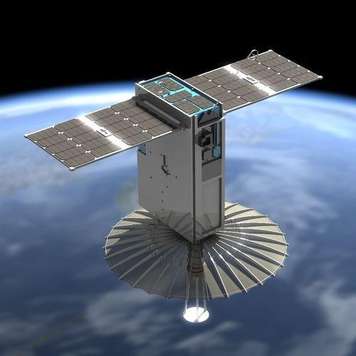 raincube satellite 3d model obj mtl fbx lwo lw lws 1