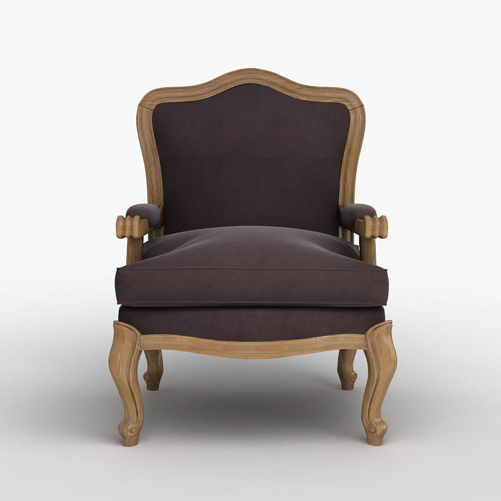 Louis Xv Classic Chair 3d Model Max Obj 1 ...