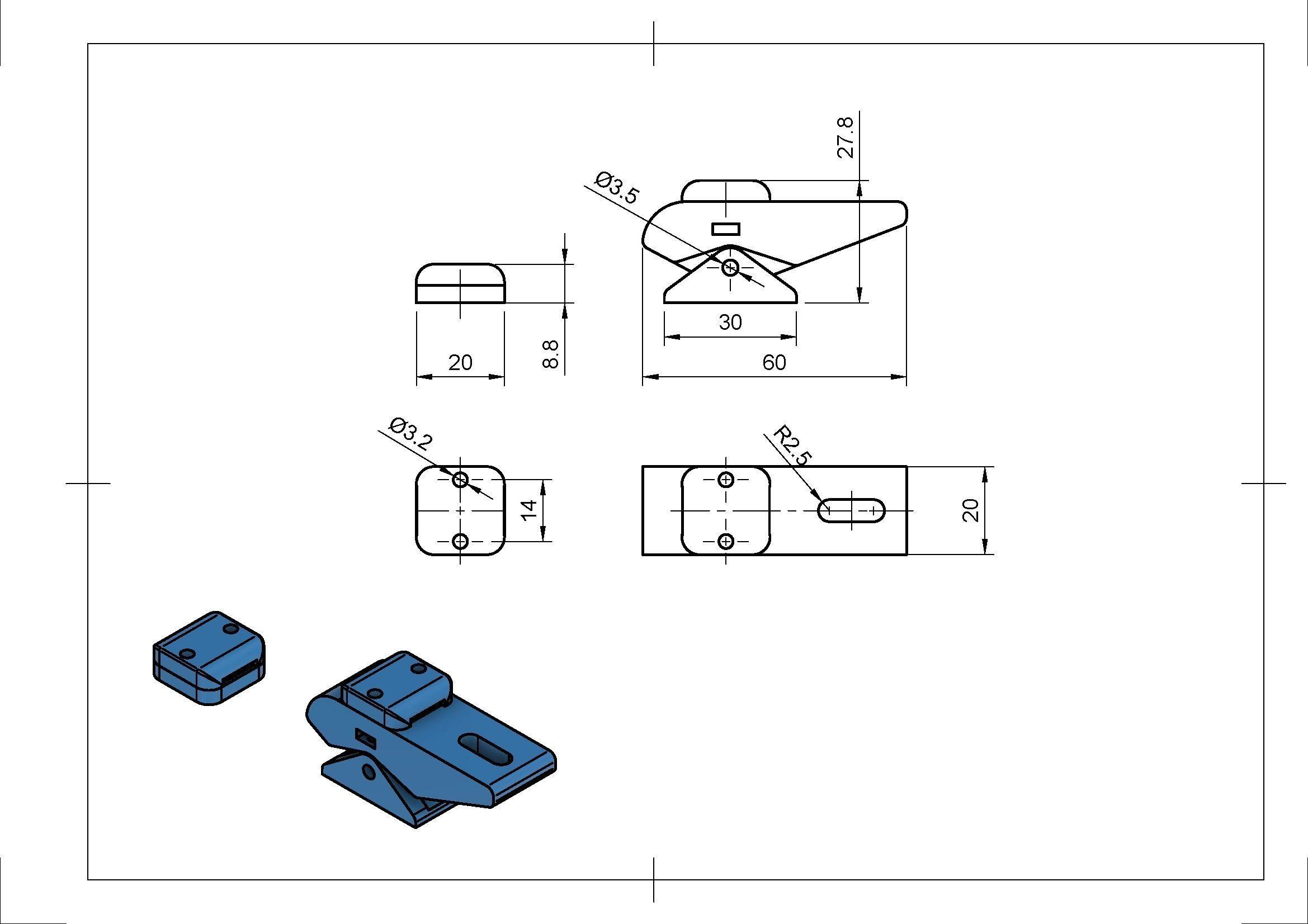 10t5 Belt Tensioner 3d Print Model Cgtrader Diagram Stl Ige Igs Iges Pdf 6