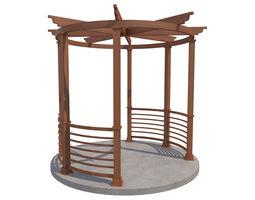 3D model Pergola 16