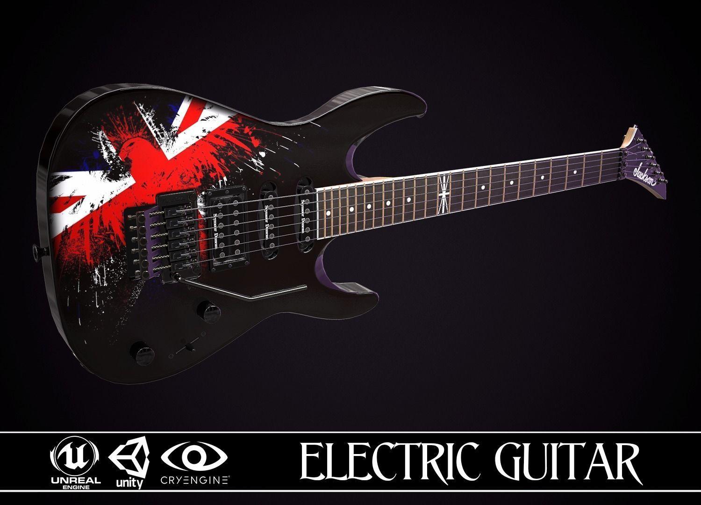 Electric Guitar Jackson Dinky British Eagle