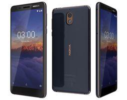 Nokia 3 Point 1 Blue Copper 3D