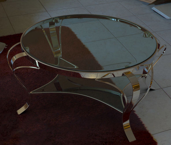 coffee table 3d model with vray materials 3d model max obj mtl fbx dae 1
