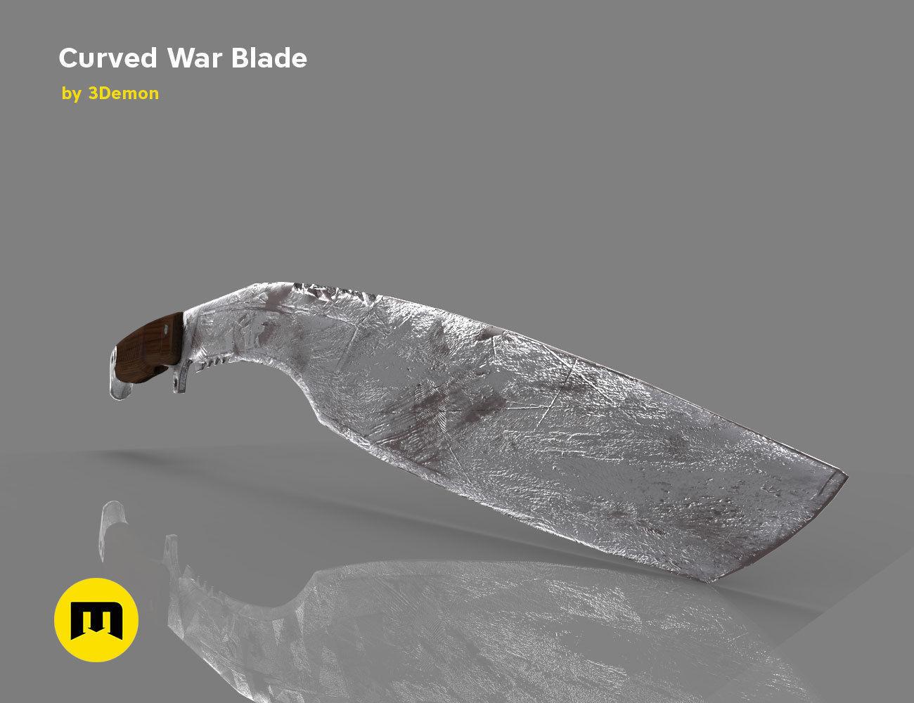 Curved War Blade