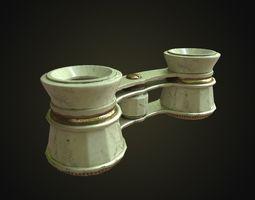 Binocular 3D asset