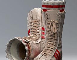 3D model Everlast Realistic Boxing Shoes