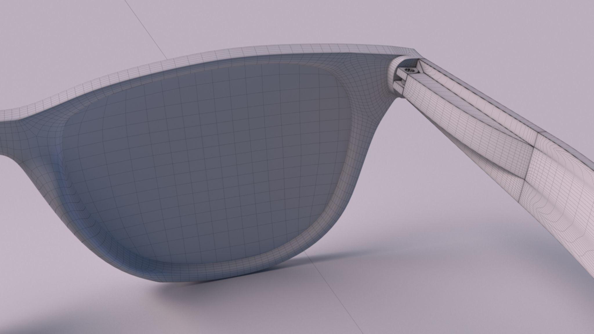 ddfd908550 ... ray ban wayfarer 3d model max obj mtl fbx 8 ...