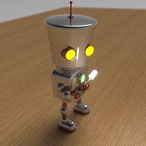 robodude 3d model stl 1