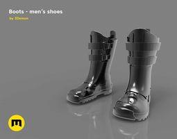 Boots - mens shoes 3D model