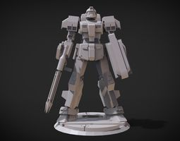 3D printable model RAG-79 Aqua GM