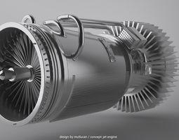 jet engine 3d