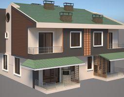 Elegant House 3D model
