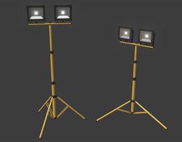 LED Work Light Stand 3D model