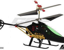 cgpdesign academyhelicopter toy- design by huskic ermin 3d