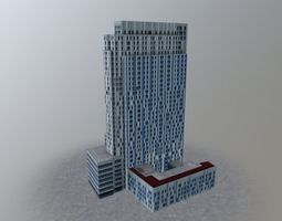 3D model London Nido Spitalfields