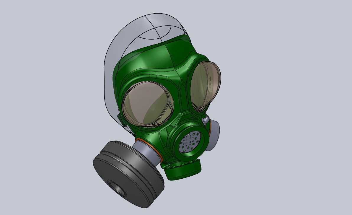 how to make a model gas mask