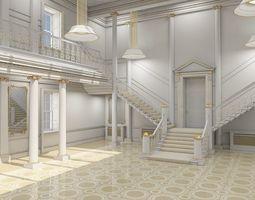 3D Grand Hall lobby