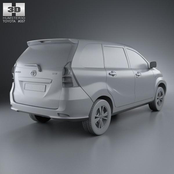 3d model toyota avanza 2012 cgtrader toyota avanza 2012 3d model max obj 3ds fbx c4d lwo lw lws 7 malvernweather Choice Image