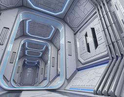 3D model Sci Fi Interior 1