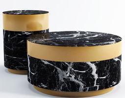 Eichholtz Side Table Caron 3D model