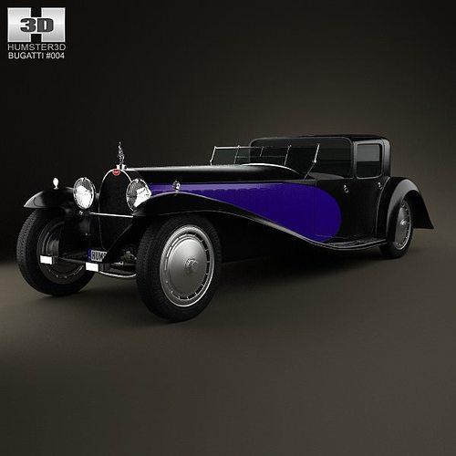 bugatti royale type 41 1927 3d model max obj 3ds fbx c4d lwo lw lws 1