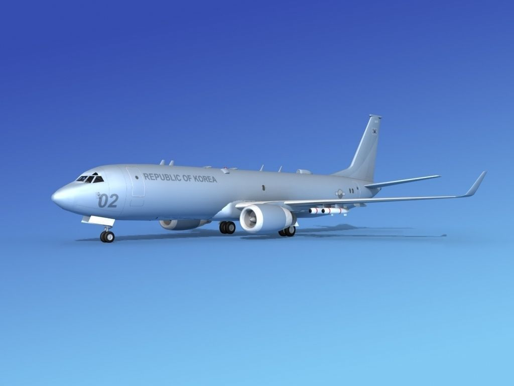 Boeing P-8 Poseidon Rep of Korea