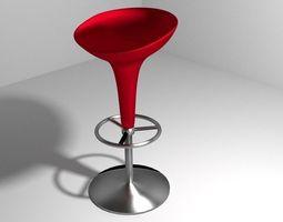 Barstool 3D model
