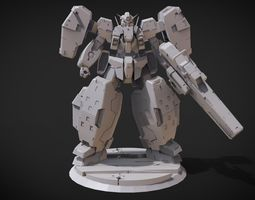 3D print model GN-005 Gundam Virtue