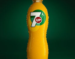 Product bottle 7UP 3D model