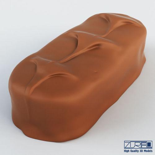 bounty chocolate bar 3d model max obj mtl fbx 1