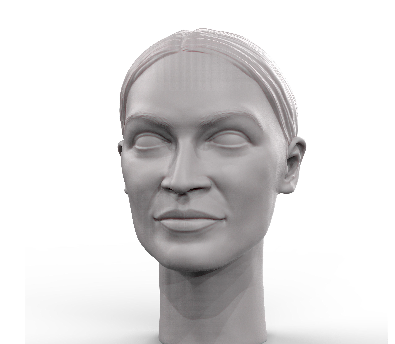 Alexandria Ocasio-Cortez portrait